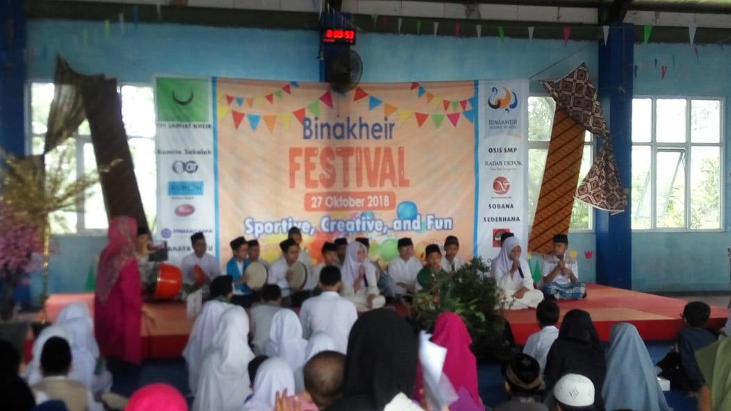 "Binakheir Festival ""Sportif, Kreatif and Fun"""