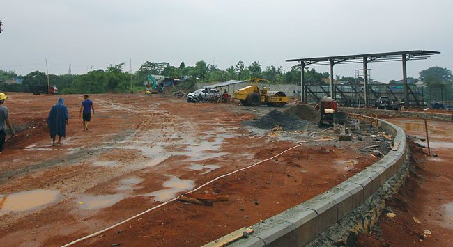 Proses Pembangunan Alun-alun Kota Depok Ditargetkan Selesai Akhir Januari