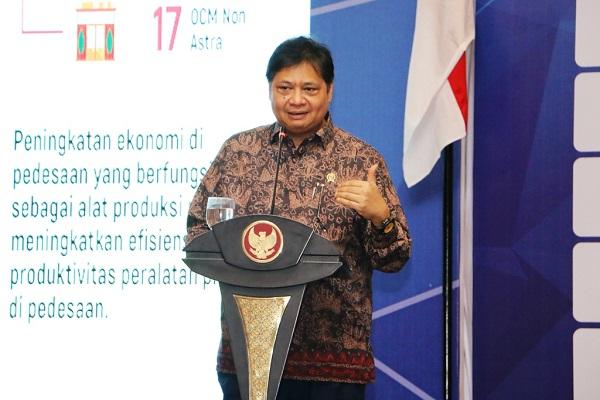 Menteri Airlangga: Program Santripreneur Sudah Diikuti Lebih 3000 Peserta