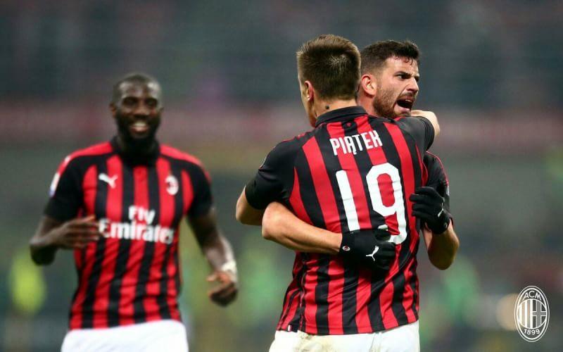 Hasil Liga Italia: Paqueta dan Piatek Bawa Milan Hantam Cagliari