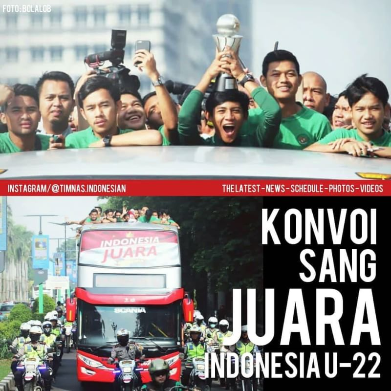 Kemenpora : Arak-arakan Timnas Tidak Berlebihan Kok