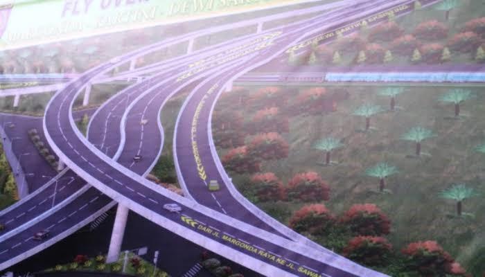 Rencana Pembangunan Dua Flyover di Kota Depok