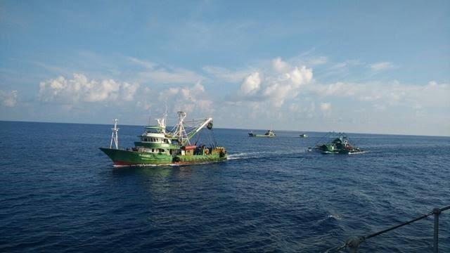 Tertangkapnya Kapal Maling Ikan di Perairan Indonesia