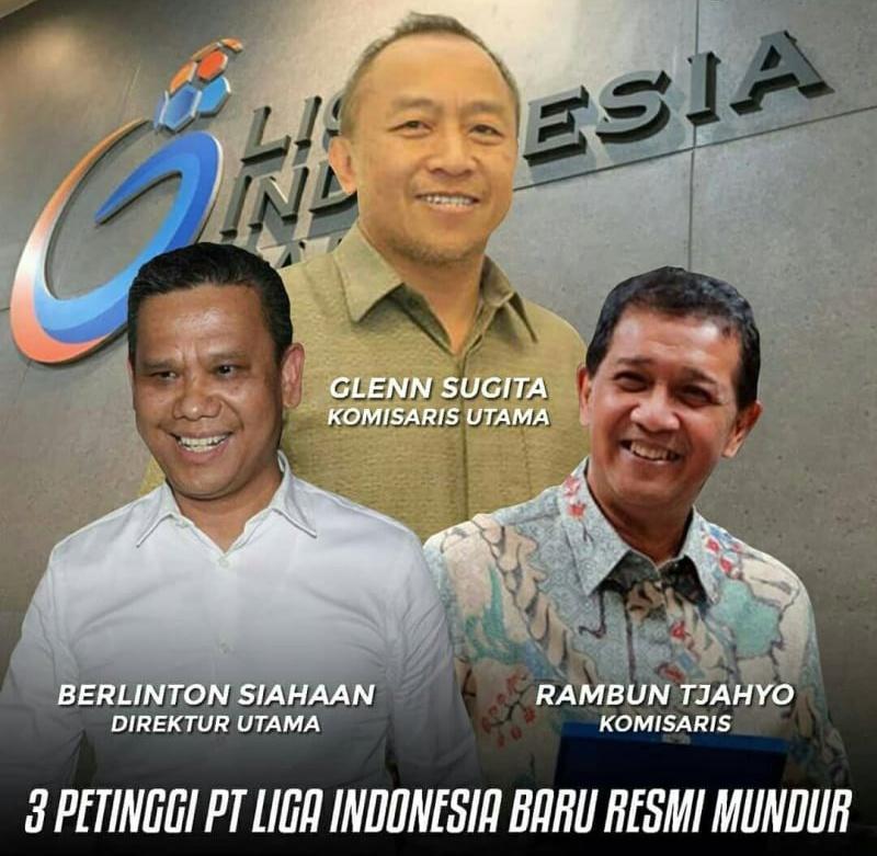 Tiga Petinggi PT Liga Indonesia Baru RESMI Mundur!