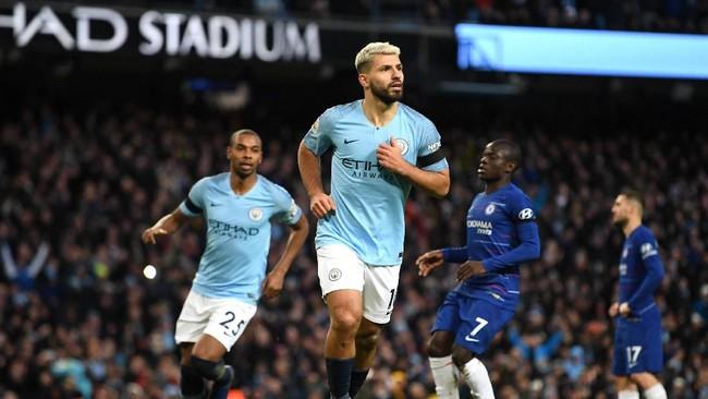 Hasil Liga Inggris: Manchester City Hancurkan Chelsea 6-0 Tanpa Balas