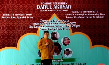 Pondok Pesantren Darul Akhyar Mengadakan Peringatan Maulid Nabi Muhammad SAW