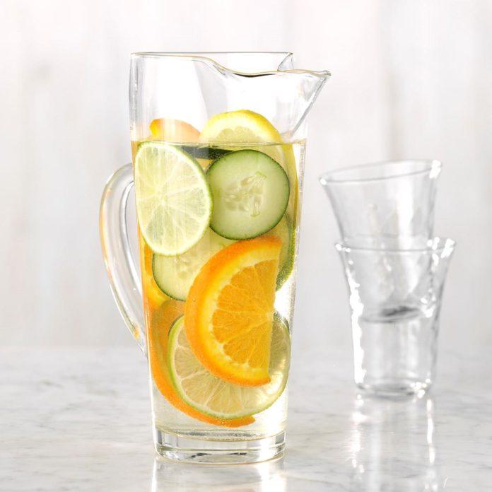 Beberapa Manfaat Infused Water