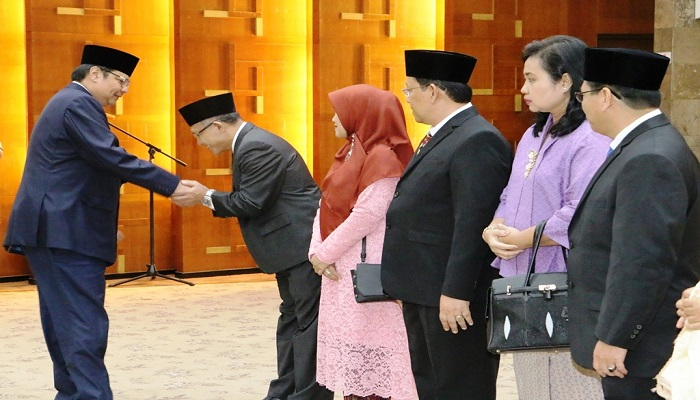 Pacu Implementasi Making Indonesia 4.0, Menperin Lantik 9 Pejabat Eselon II