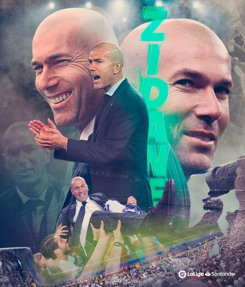 Zidane Kembali Melatih Real Madrid