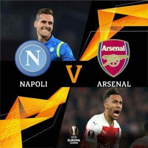 Drawing Perempat Final Liga Europa: Napoli Versus Arsenal