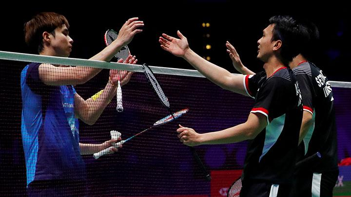 Ganda Putra Indonesia Raih Juara All England 2019