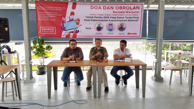 Melalui gerakan Posting Doa di Medsos, Warganet Sepakat Lawan Hoax
