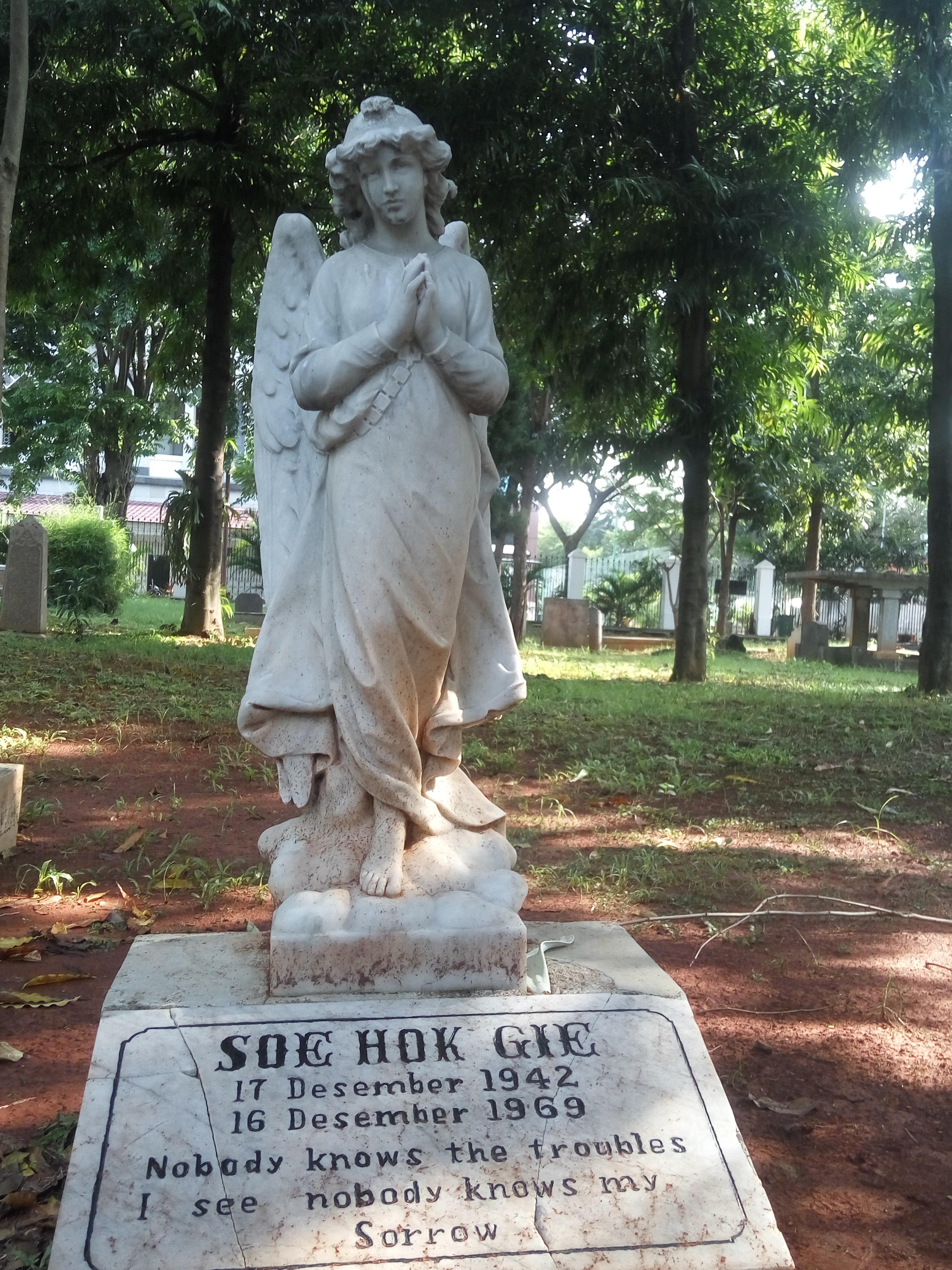Mengenang Soe Hok Gie di Museum Taman Prasasti