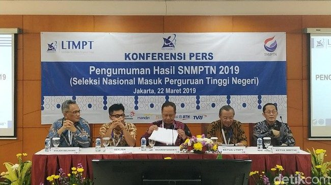 Kemenristek Dikti 'Kunci' Peserta yang Akan Lolos SNMPTN 2019