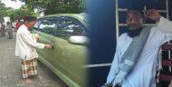 Herman Alias Nur, Pengemis Yang Viral Karena Memiliki Mobil