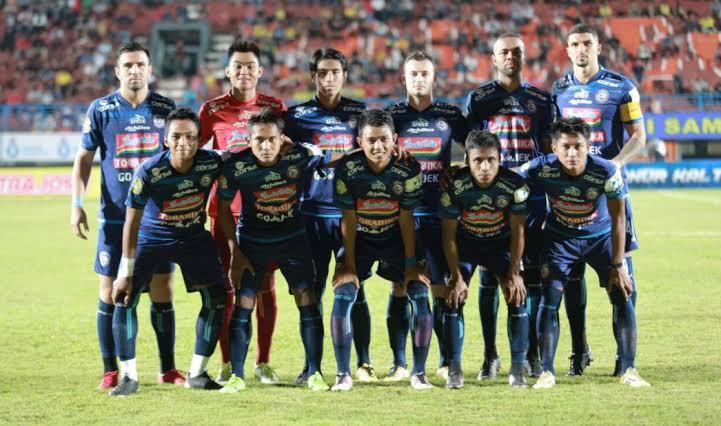 Arema FC Taklukkan Kalteng Putra