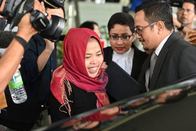 Siti Aisyah Pembunuhan Kim Jong-Nam Bebas