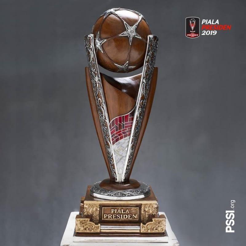 Wajah Baru Trofi Piala Presiden 2019