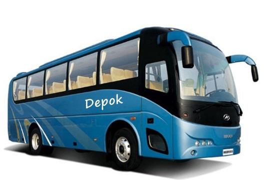 Bus AKDP Terminal Depok Dipindah