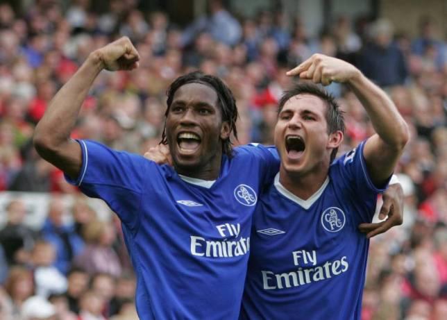 Didier Drogba Dan Frank Lampard