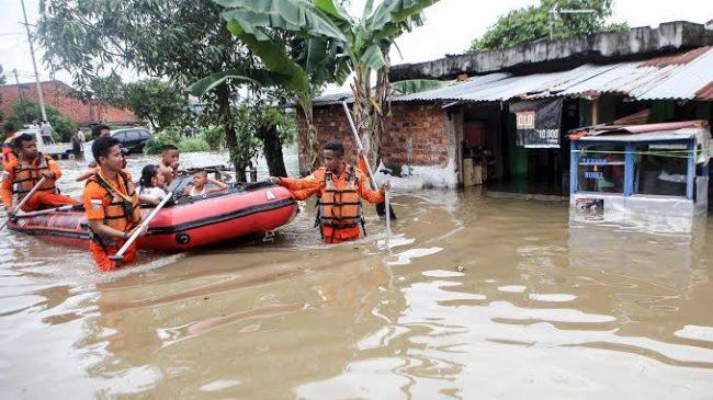 Cikarang Dilanda Banjir