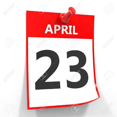 Peristiwa Ditanggal 23 April