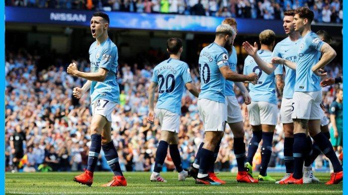 Kalahkan Tottenham Hotspur Dengan Skor Tipis, Manchester City Kini Puncaki Klasemen Sementara