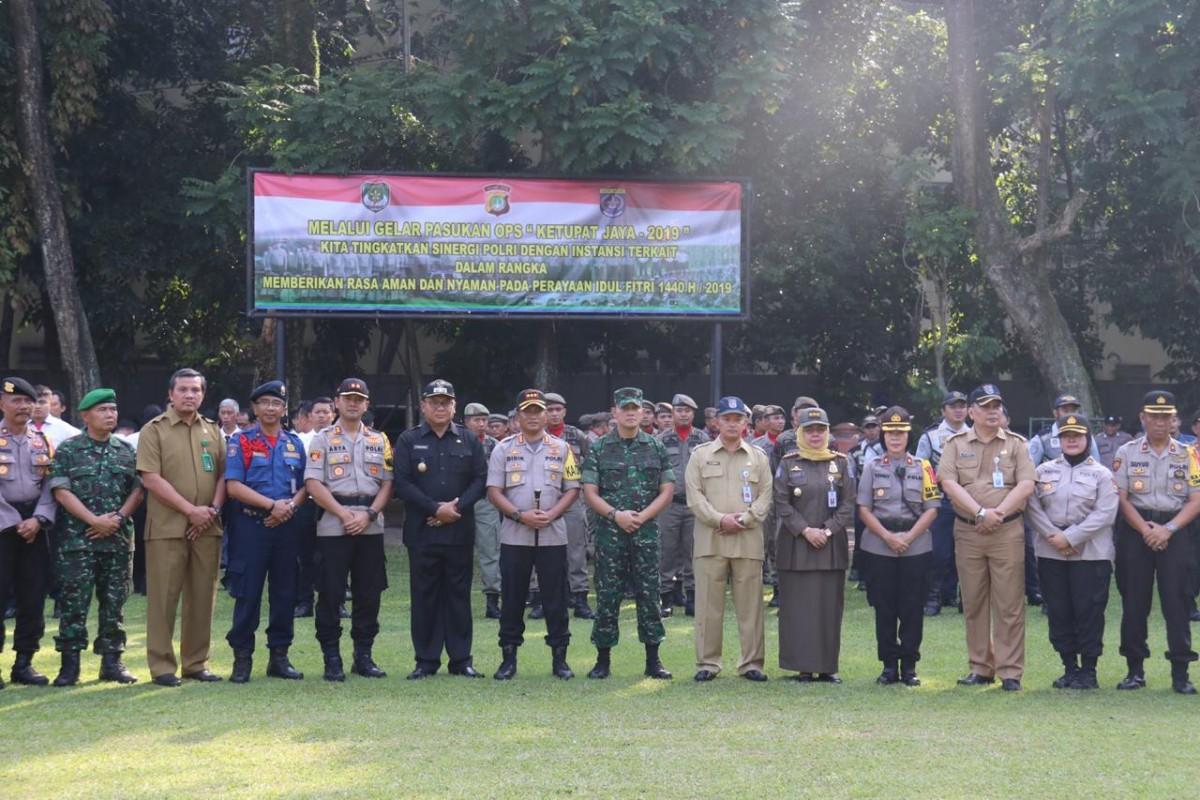 958 Personel Gabungan di Depok Dikerahkan Amankan Idulfitri