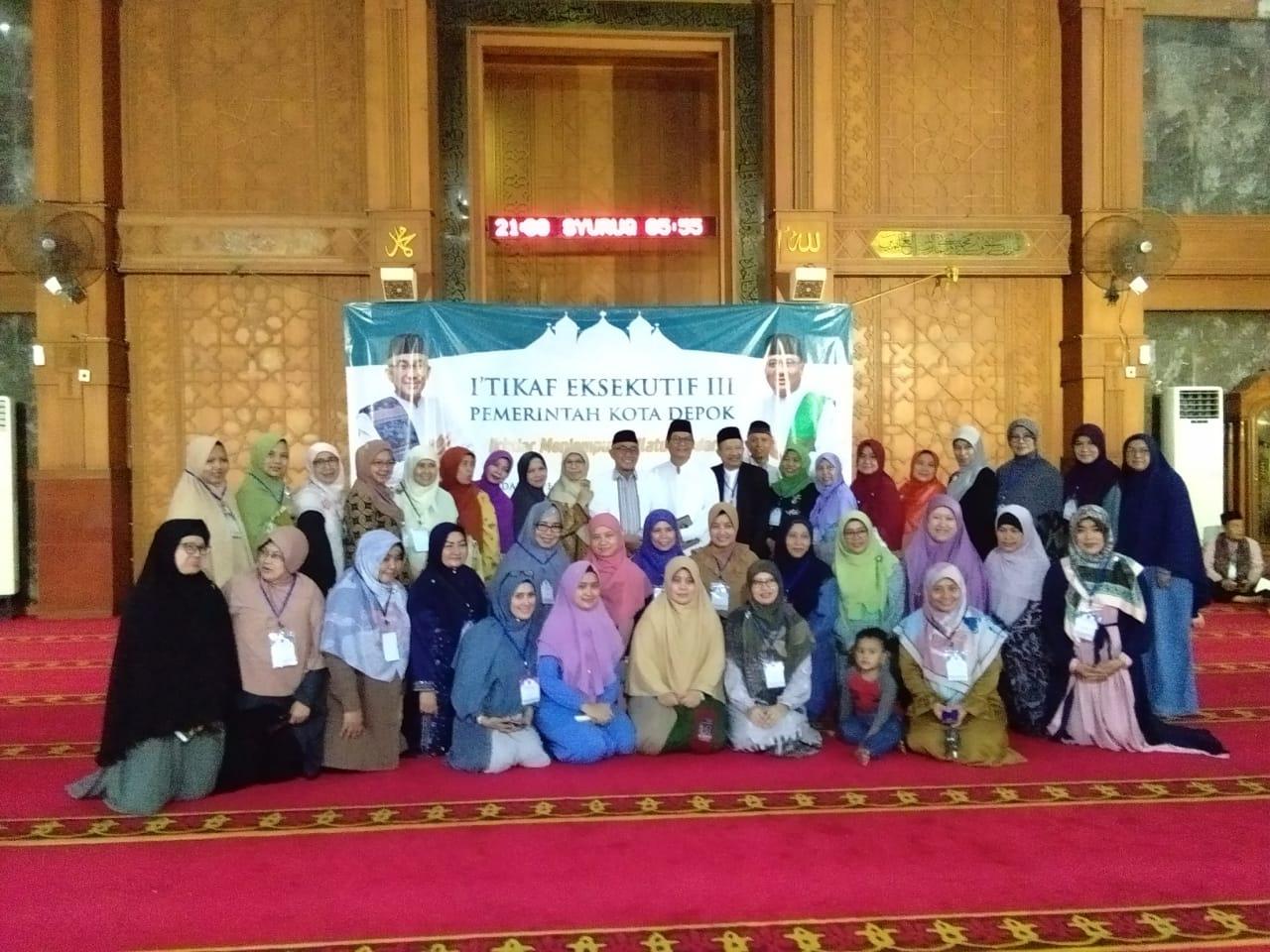 Luar Biasa I'tikaf ASN Depok 40 Menit Khatam Al Qur'an
