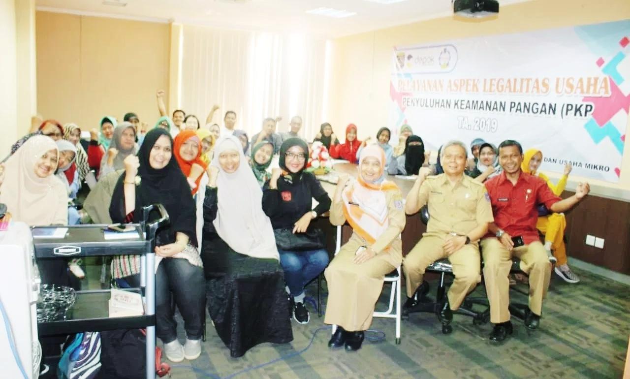 DKUM Depok Selenggarakan Sosialisasi Kelayakan Pangan Produk UMKM