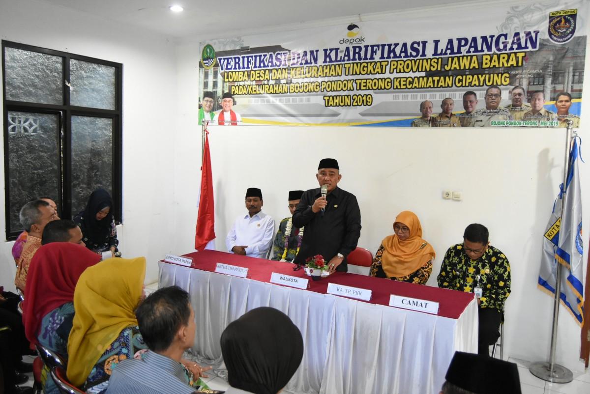 Wali Kota Depok Optimistis Boponter Juara di Jabar
