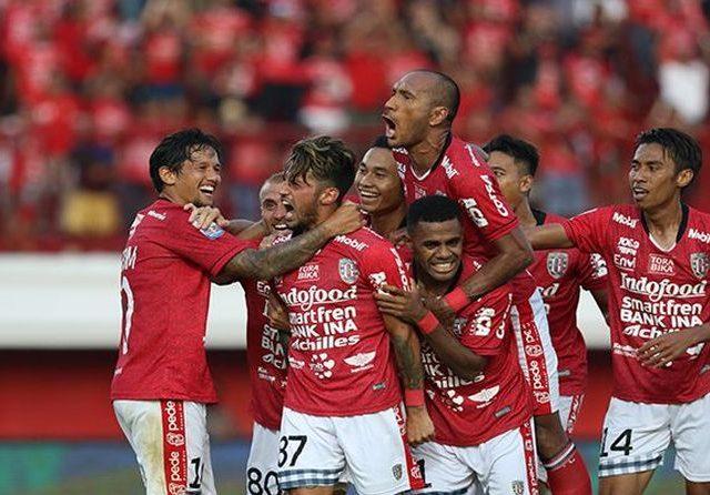 Bali United di Puncak Klasemen Liga 1