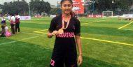 Berparas Cantik, Zahra Muzdalifah Memiliki Segudang Prestasi Di dunia Sepak Bola