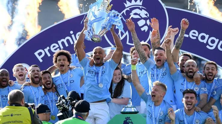 Juara Liga Inggris, Manchester City