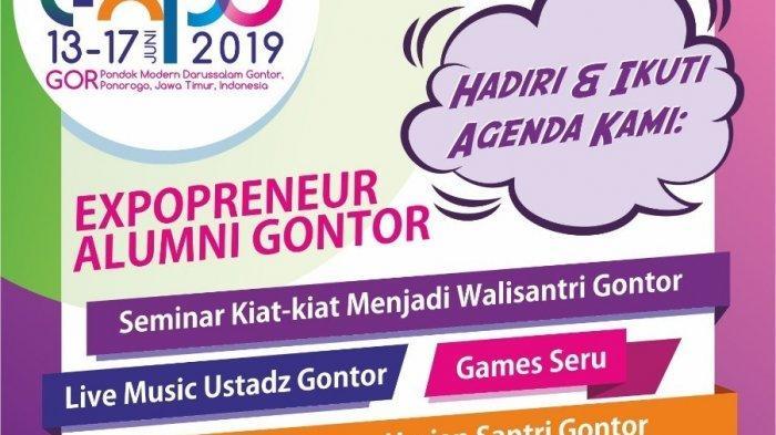 Forbis IKPM Gontor Expo Tahun Ini Naik Level Dan Tampil Beda