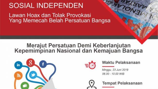 FPMSI Akan Gelar Aksi Petisi Dukung Proses Demokrasi Konstitusional Yang Damai Melalui Ajakan Merajut Kembali Persatuan di CFD Bandung
