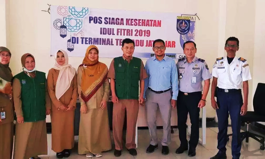 Anggota DPRD Jawa Barat Tinjau Arus Balik di Terminal Jatijajar Depok