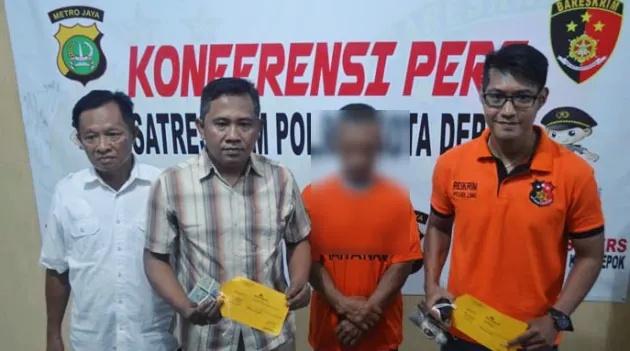 Polisi Ringkus Pelaku Pembobol Rumah Bos Ayam di Cinere Depok