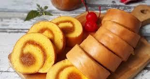 Resep Membuat Bolu Gulung Stroberi Dengan Fruit Mix