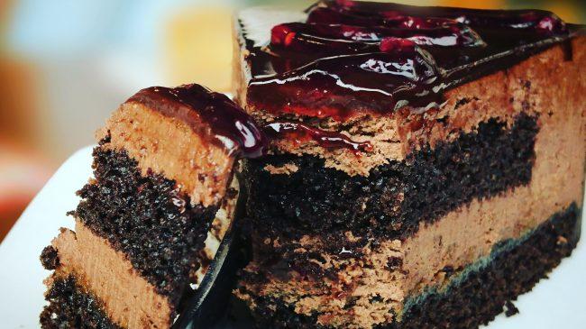 Resep Membuat Chiffon Cake Cokelat Ketan Hitam