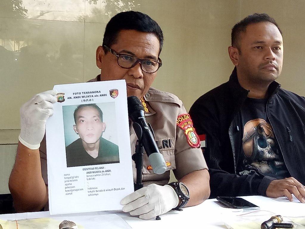Polisi Rilis Foto Buronan Pencurian Motor di Depok Yang Berkeliaran Membawa Pistol