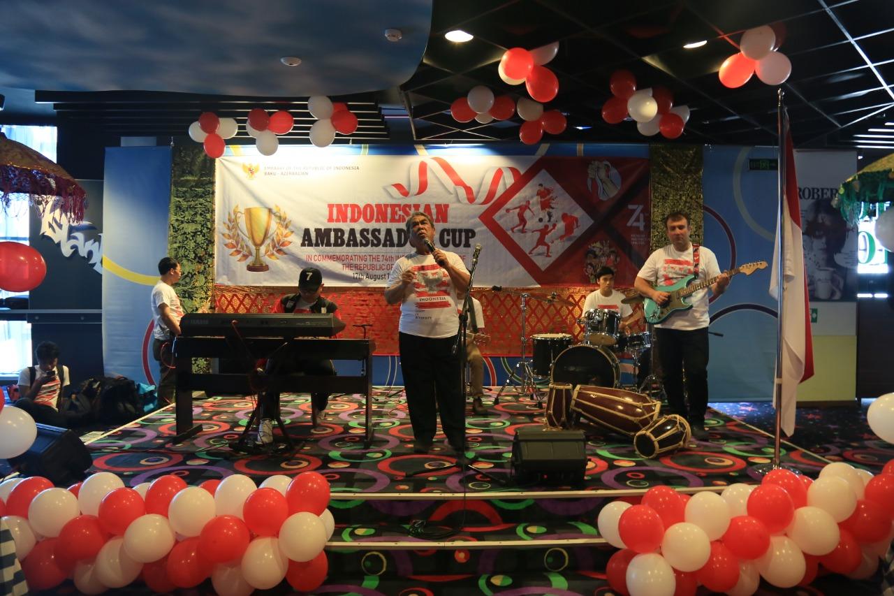 KBRI Baku Azerbaijan Menyelenggarakan Berbagai Lomba Jelang Peringati HUT RI ke 94