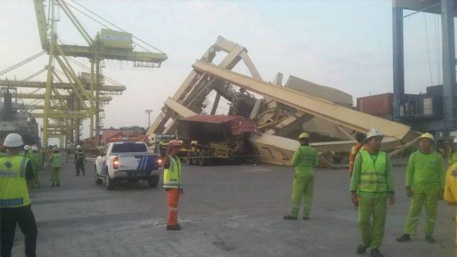 Pasca Insiden Kapal MV Soul Of Luck , KSOP Tanjung Mas Semarang Pastikan Opersional Pelabuhan Tetap Berjalan