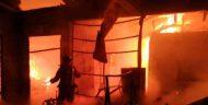 Kebakaran Dijalan Raya Kartini Depok