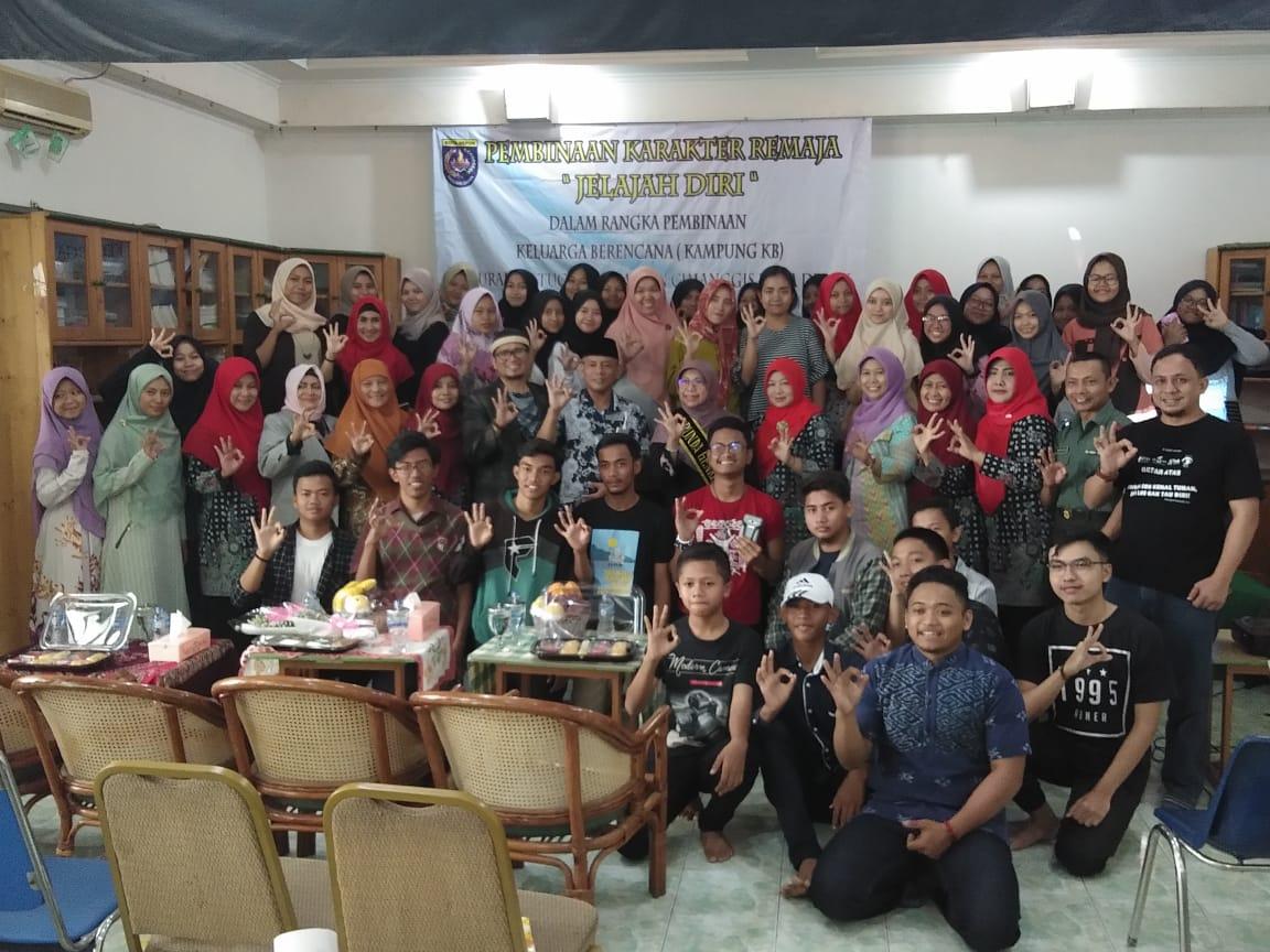 Di Hadiri Bunda Elly Farida, Kelurahan Tugu Gelar Pembinaan Karakter Bagi Remaja
