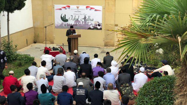 Hikmatnya Perayaan Idul Adha di Wisma Indonesia Baku