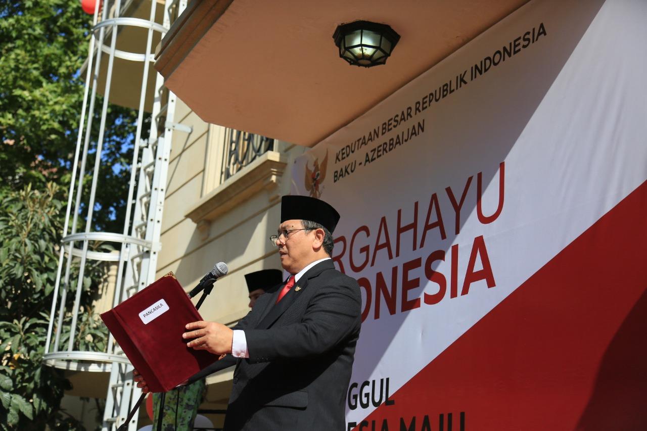 Gebyar Perayaan Kemerdekaan Indonesia Ke-74 dari Baku, Azerbaijan