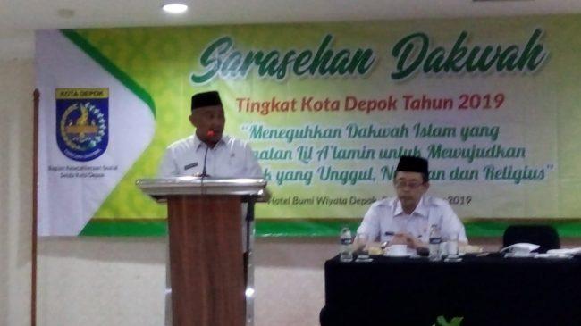 Wali Kota Depok Mohammad Idris Hadiri Sarasehan Dakwah 2019
