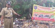 Gebrakan Solusi H.Syahrudin, Lurah Cisalak Pasar (Cipas) Kecamatan Cimanggis bagi Pembuang Sampah Liar