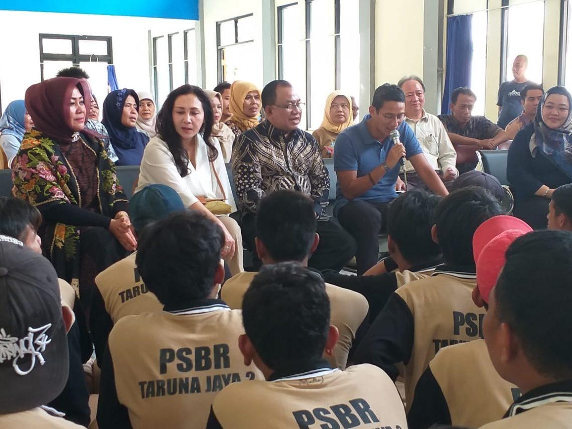 Hadiri Gemawira, Sandiaga Uno Dorong Motivasi Berwirausaha Pada Warga Binaan